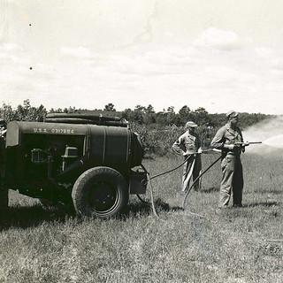 Engineer Aviation Fire Fighting Platoon-Training