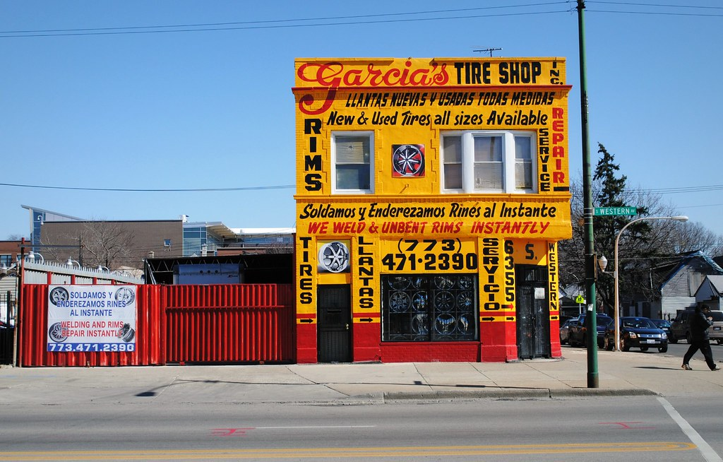 Garcias Tire Shop >> Garcia S Tire Shop 6355 South Western Ave Chicago Illinoi Flickr