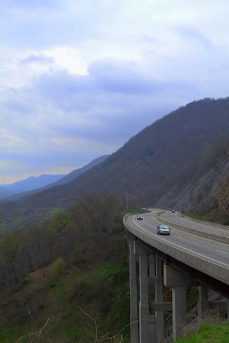 county bridge trees sky mountain james virginia highway memorial scenic gap route walker va valley wise powell 23 overlook robinson benges