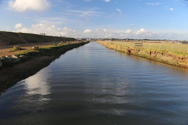 Stream leading to Sturt Pond, Milford-on-Sea