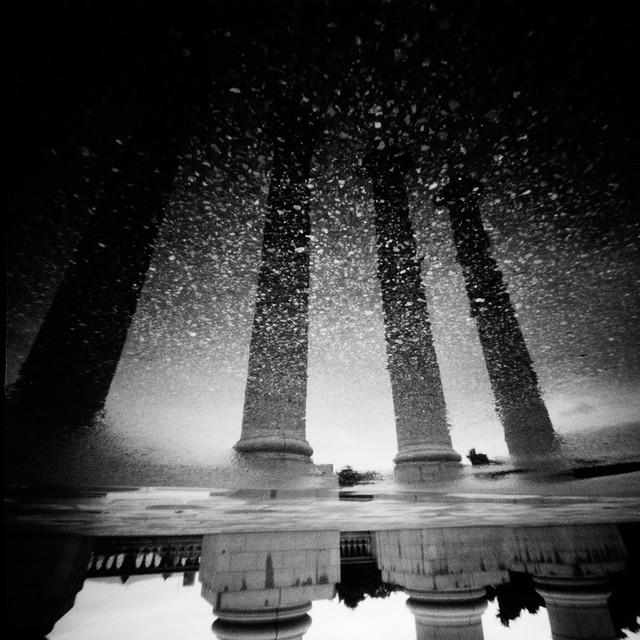 Pillars of a sparkling Sky