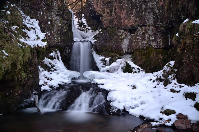 cascade du brigandou hiver 1