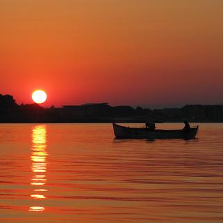 Black Sea Sunset - Nesebar - Bulgaria