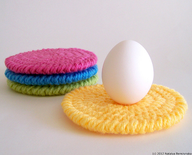 Crochet Easter Coasters
