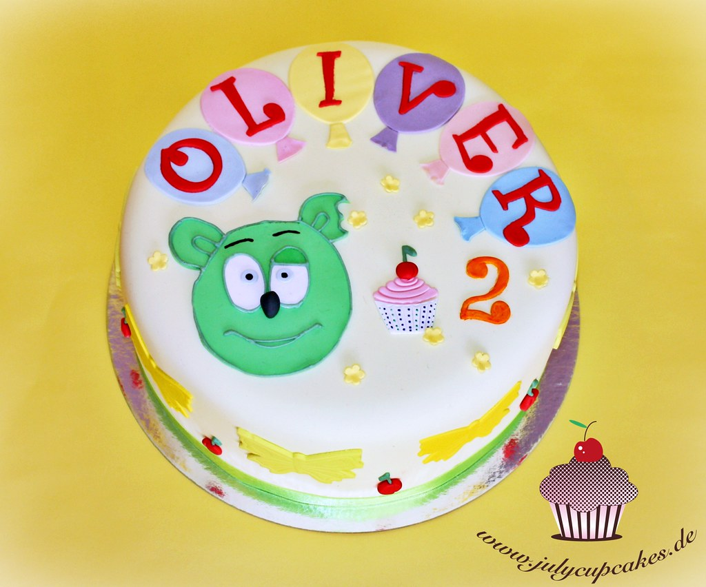 Groovy Gummy Bear Birthday Cake Youtube Com Watchvastisottc Flickr Funny Birthday Cards Online Benoljebrpdamsfinfo