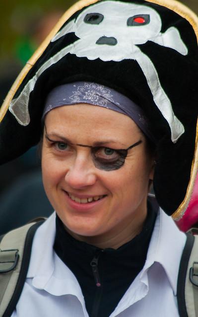 A happy Alaskan pirate