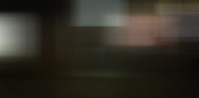 abstract motion blur vert, then horizontal