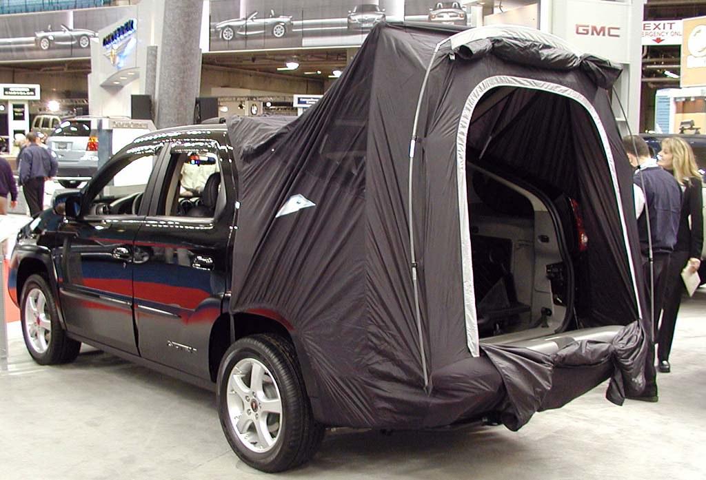Pontiac Aztek with tent option | BC Place Vancouver BC ...