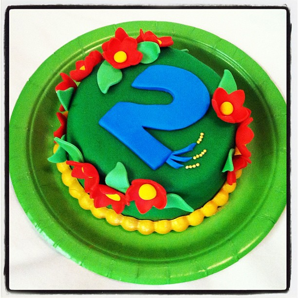 Brilliant Tiny Birthday Cake For Everly She Had A Rio Birthday Hen Flickr Birthday Cards Printable Opercafe Filternl