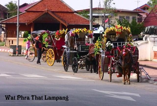 Thailand , Wat Phra That Lampang , Empfang , 3