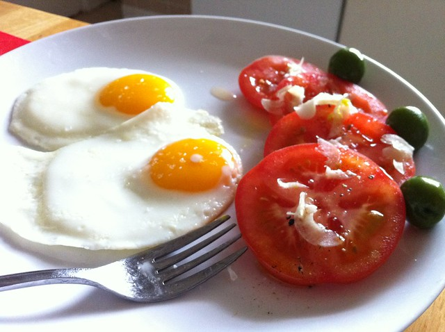 Eggs and Tomatoes