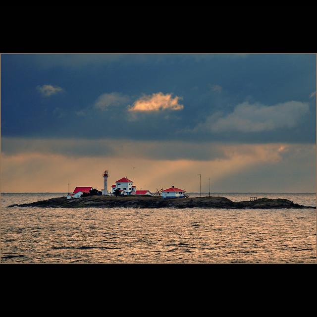 entrance island lighthouse . . .
