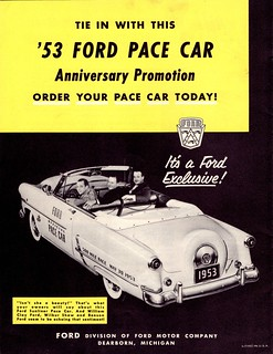 1953 Ford Sunliner Indy 500 Pace Car