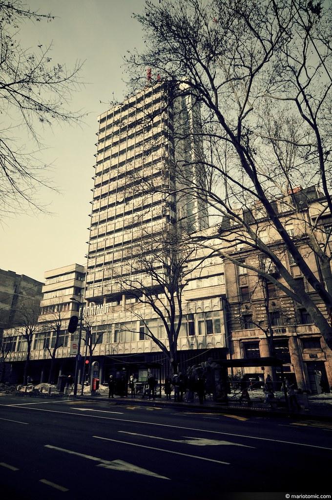 Zgrada Politike U Makedonskoj Ulici U Beogradu Building O Flickr
