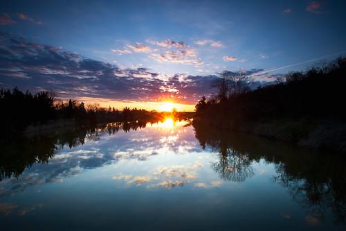 morning sky ny newyork reflection clouds dawn unitedstates longisland kingspark sunkenmeadowstatepark michaeldanielson