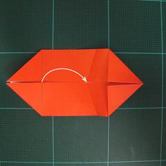 การพับกระดาษเป็นรูปปลาทอง (Origami Goldfish) 005