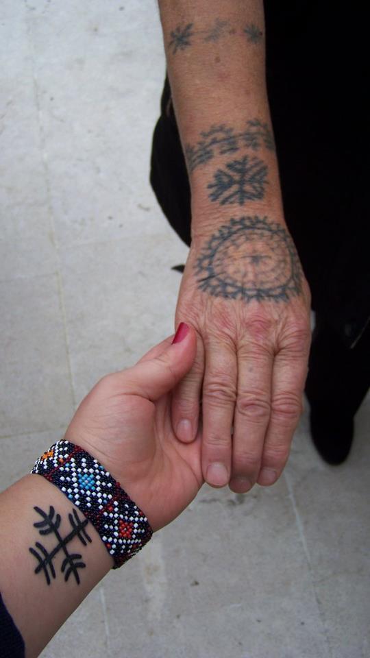 croatian catholic tattoos in bosnia