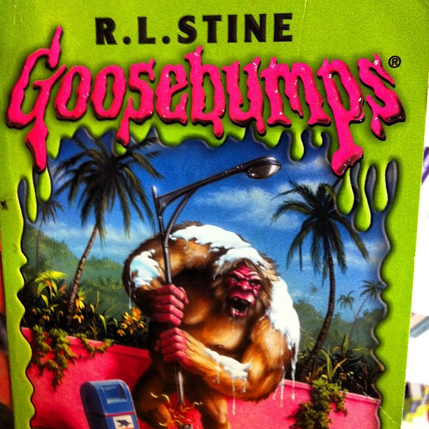 Image result for goosebumps book