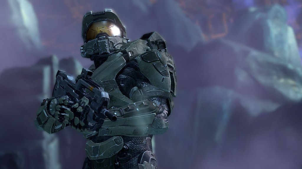 Master Chief Halo 4 First Ever In Game Photo Of Halo 4
