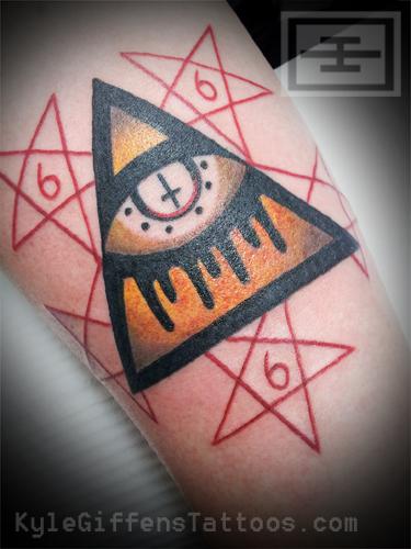 """666 tattoo Tattooing """"666″"""