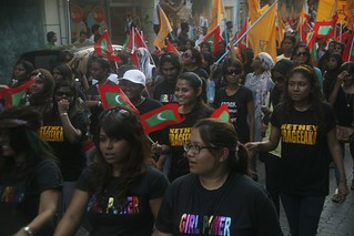 International Womens Day March   by dying regime