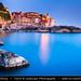 Italy - Liguria Coast - Riviera Ligure - Poets Gulf (Golfo dei Poeti) - Tellaro - Wonderful Traditional Village on shores of Mediterranean sea at Dusk - Twilight - Blue Hour by © Lucie Debelkova / www.luciedebelkova.com