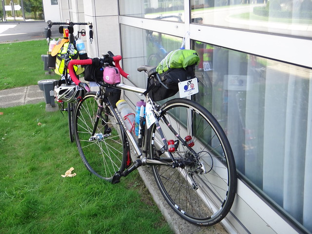 Dr T's bike at Paris Brest Paris