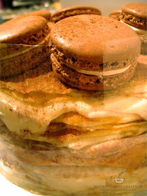 Tiramisu Mousse Crepe Cake