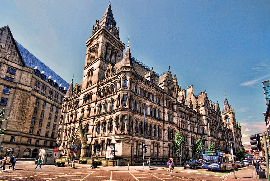 Manchester The Town Hall by O'Brien Photography