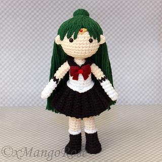 Crochet Amigurumi Anime Chibi Schoolgirl Doll Set   Crochet ...   320x320