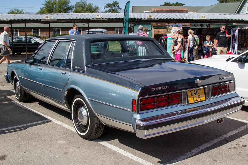 Brooklands American Day 2015 - 1987 Chevrolet Caprice Clas… | Flickr