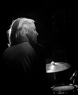 The smiling drummer   by JLscape