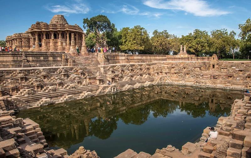 Modhera Sun temple Gujarat, India_8690a