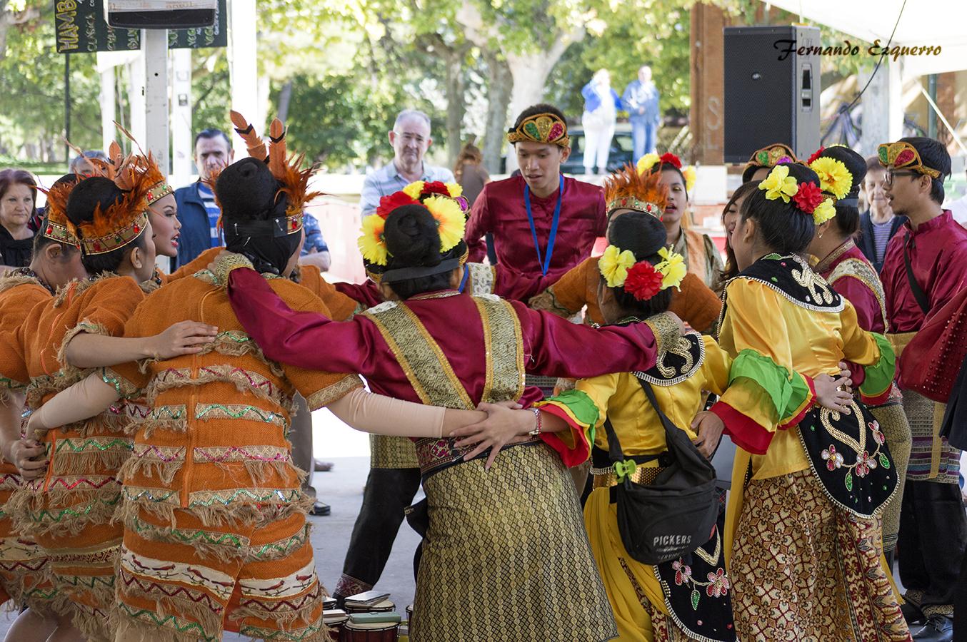INDONESIA en el XXIV Encuentro Internacional de Folklore Ciudad de Zaragoza