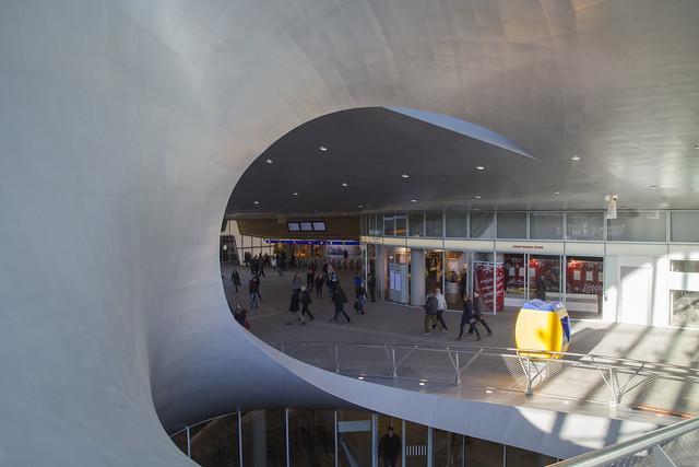 Arnhem Centraal Train Station by UNStudio. Explored!