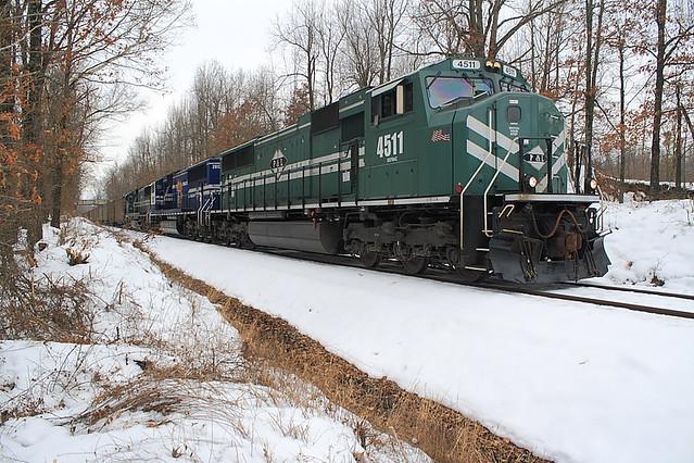P&L 4511 (SD70MAC) Madisonville, KY