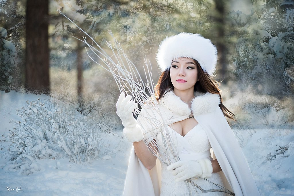 Winter Fantasy Art Photography Vietnamese Vietnam Fashion