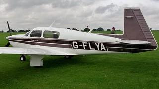 G-FLYA - Mooney M.20J 201  Sywell