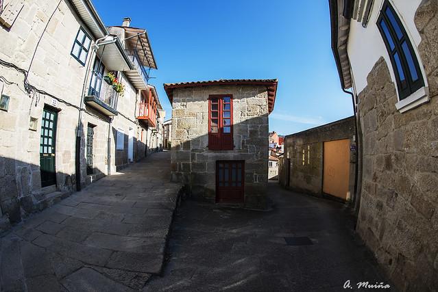 Calles típicas de Allariz-Galicia-España