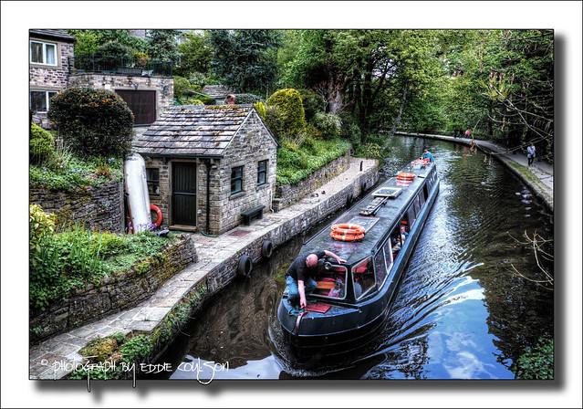 Huddersfield Narrow Canal, Uppermill.