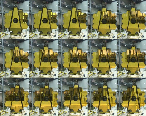 May 4th - Goddard Takes a Selfie in JWST | by James Webb Space Telescope