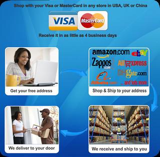 Shipping from USA for Nigerian Buyers - Shoptomydoor