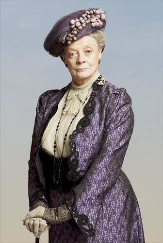 Maggie Smith as the Dowager Duchess | by msrivergirl