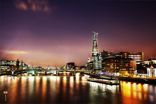 bridge 2 london tower st thames night photoshop canon reflections french photography lights photographie view cathedral mark pauls ii londres multiple 5d canon5d manual shard nuit hdr southwark francais blending markii exposures mattei mark2 tamise cs5 canon5dmark2 100commentgroup canon5dmarkii