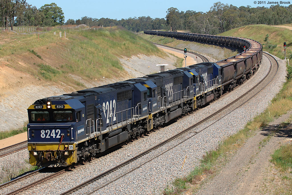 8242, 8255 and 8243 at the Golden Highway by James Brook