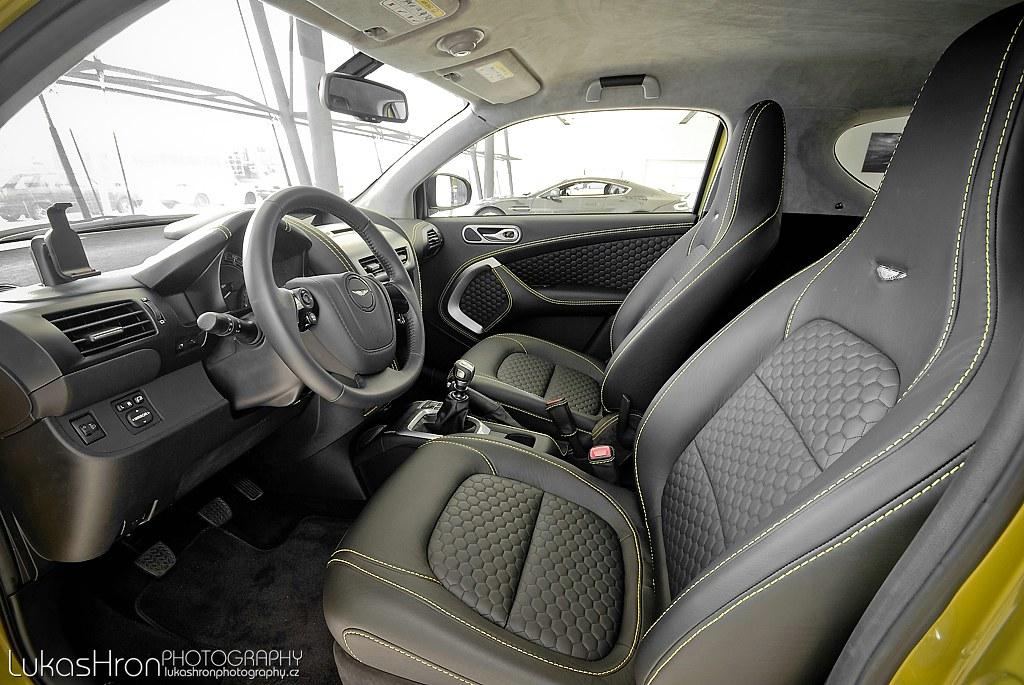 Aston Martin Cygnet Interior Aston Martin Cygnet Interior Flickr