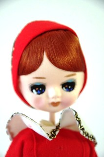 Sweet Red Dress Pose Doll