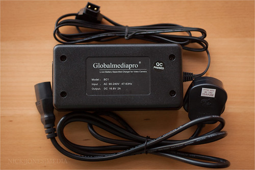 GlobalMediaPro SC1 Charger