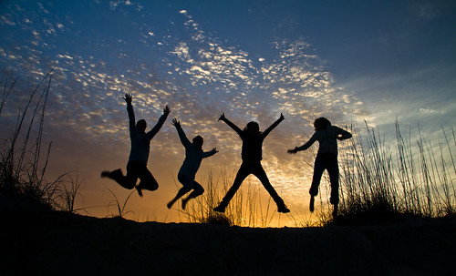 Jumping Silhouettes | by Ant1_G