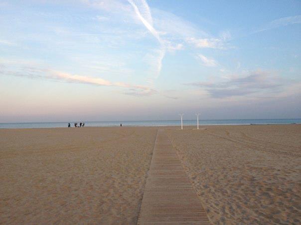 Berklee Valencia blogs - Ryan McGonagill - The beach
